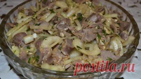 Готовим вкусно - Маринованные куриные желудочки в соевом соусе пикантные и невероятно вкусные