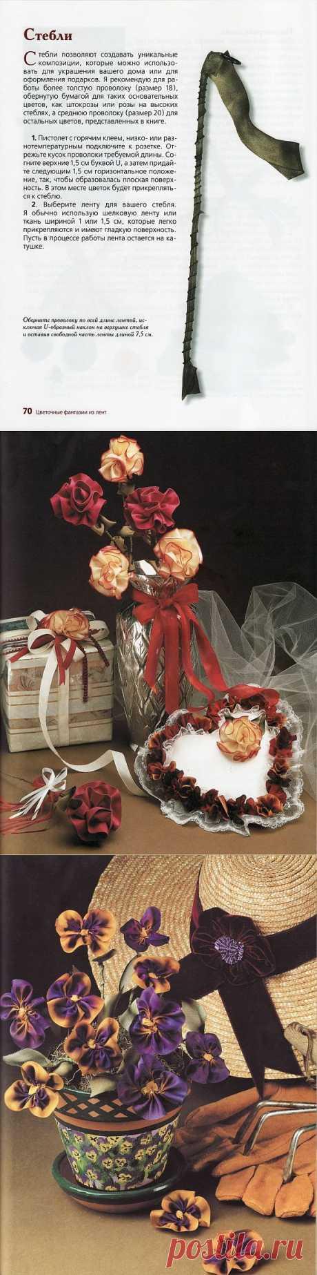 Книжечка про цветы из ткани / Цветы из ткани / PassionForum - мастер-классы по рукоделию