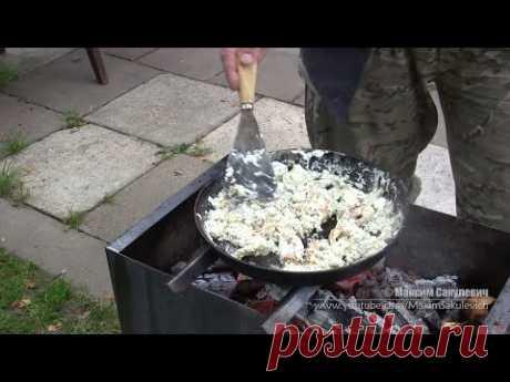 Poe-Mongolian fried eggs or Just Very Tasty Fried eggs)