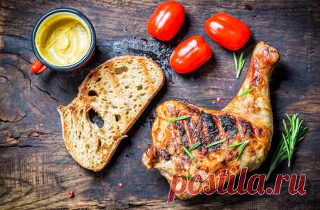 Chicken grill: 8 best ways to make it