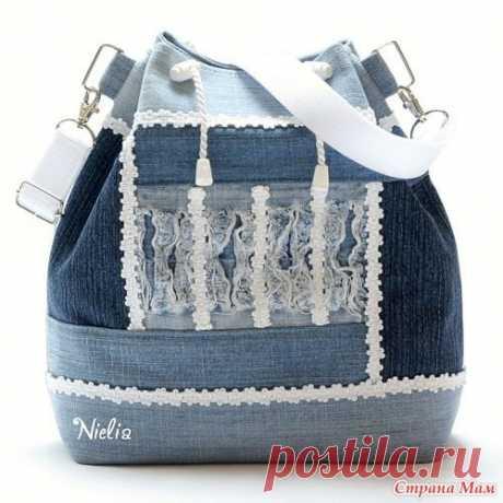 Сумки и рюкзаки из джинсов: идеи — Сделай сам, идеи для творчества - DIY Ideas