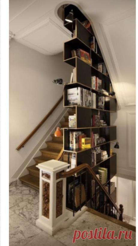 Храним книги — Сделай сам, идеи для творчества - DIY Ideas