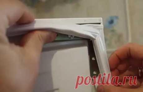 4 способа, как восстановить резинку на холодильнике, если она то и дело отходит - Квартира, дом, дача - медиаплатформа МирТесен