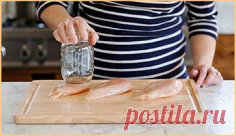 Как приготовить сочные и нежные куриные грудки