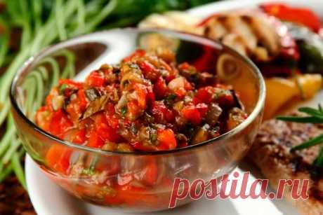 Соус айвар с баклажанами – пошаговый рецепт с фото.