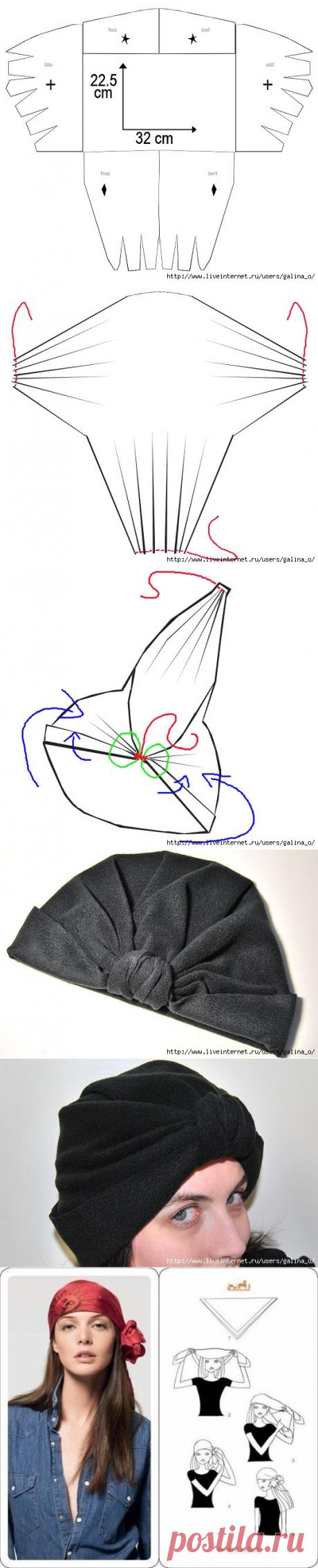 шляпки , шапки,шарфы и платки | Алина Ганичкина | Идеи и фотоинструкции бесплатно на Постиле