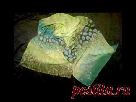 Основные приемы росписи ткани | БАТИК и Я