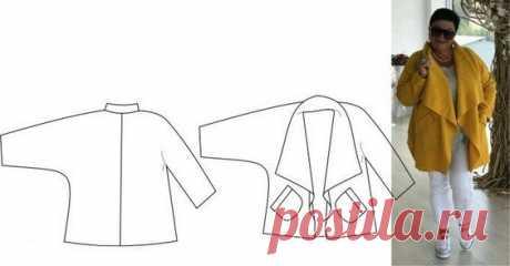 Как сшить легкое полупальто быстро и просто для любой фигуры | модница | Яндекс Дзен