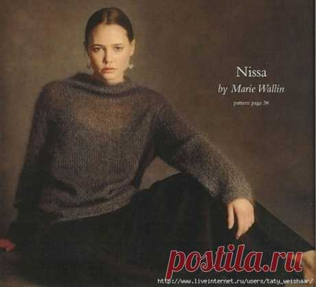 Пуловер спицами  #пуловер_женский@knit_best, #пуловер_спицами@knit_best  описание