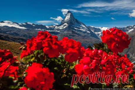 Маттерхорн — это самая красивая гора в мире (Швейцария)