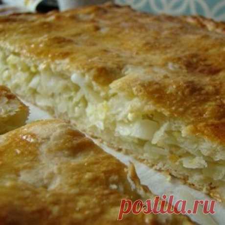 Капустный пирог - МирТесен