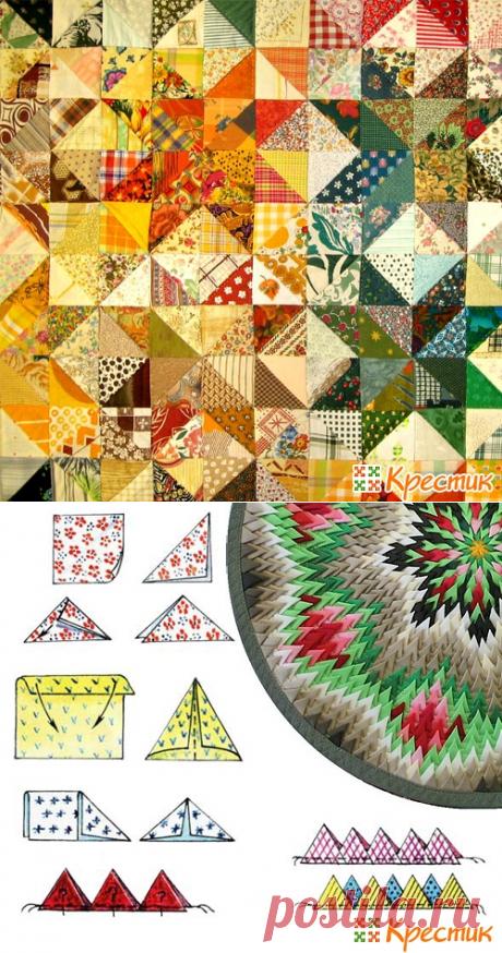 Пэчворк: лоскутное шитье для начинающих