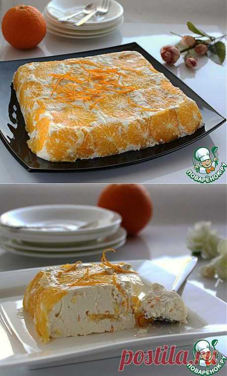 Творожный десерт - кулинарный рецепт