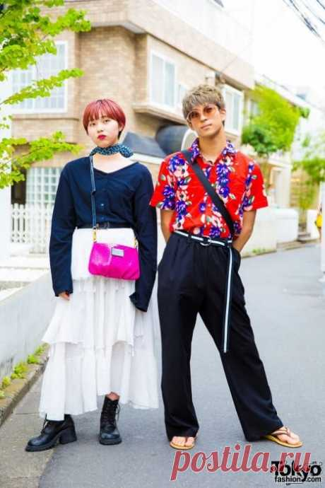 Модники и модницы на улицах Токио (26 фото)   Чёрт побери Приглашаем вас на очередную виртуальную экскурсию по улицам Токио, где можно увидеть самых ярко и разнообразно одетых представителей различных поп-культур или просто модников и модниц!