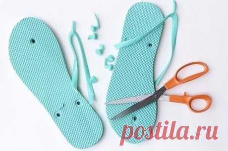 обувь с въетнамок