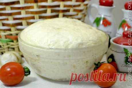Простой рецепт универсального дрожжевого теста без яиц для домашней выпечки, рецепты с фото