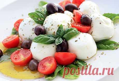 Итальянские салаты: ТОП-5 летних рецептов - Кулинарные советы для любителей готовить вкусно - Хозяйке на заметку - Кулинария - IVONA - bigmir)net - IVONA bigmir)net