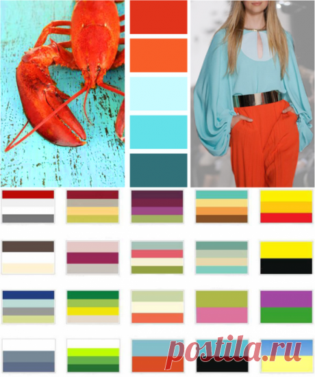Какой цвет в одежде с каким сочетается лучше всего — Полезные советы