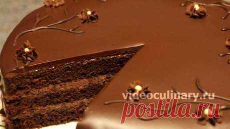 Бисквитные шоколадные торты нежные и вкусные. Бисквитный торт - всегда желанный десерт. Рецепт Простого бисквитного шоколадного торта от Бабушки Эммы и Даниэлы