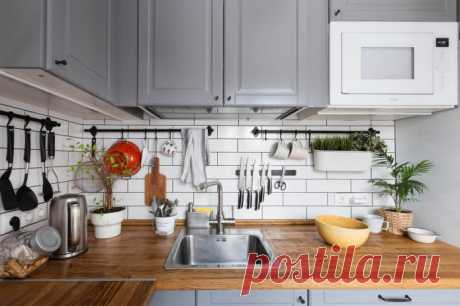 Какие вещи нельзя хранить на кухонной столешнице?