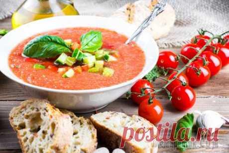 Суп Гаспачо рецепт - Холодный томатный суп