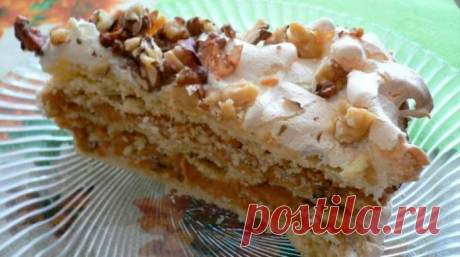 Торт «А-ля по-киевски» — недорогой, вкусный, несложный в приготовлении и просто любимый