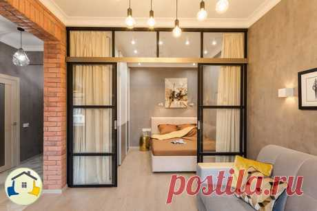 Интересная идея разделения пространства в комнате. Что скажете?