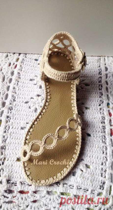 Летняя обувь в вашу копилочку.
