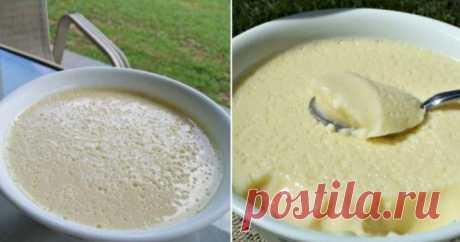 Воздушный сливочный крем-десерт 5-минутного приготовления: нежный и очень легкий