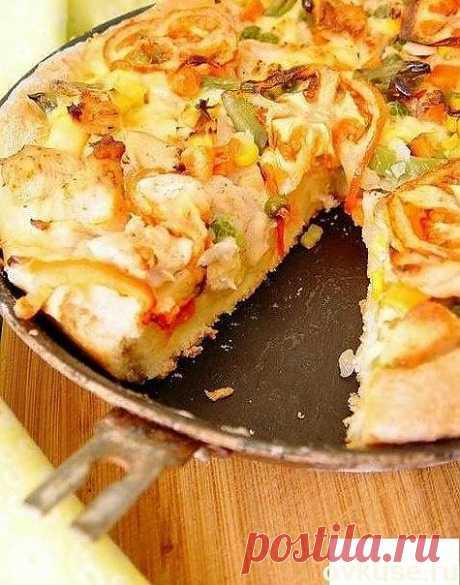 Куриный пирог с овощами - Простые рецепты Овкусе.ру