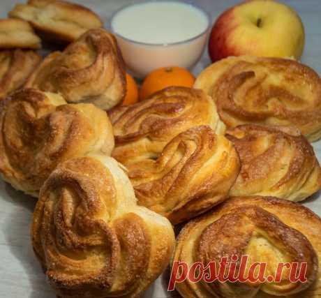Вкуснотища и объедение! Нежные, очень пышные! Сладкие сахарные булочки – просто и легко. | Найди Свой Рецепт | Яндекс Дзен