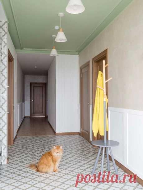Просто фото: Цветной потолок | Houzz Россия