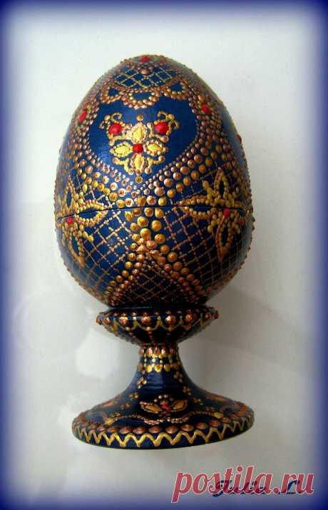 Пасхальное яйцо (в частной коллекции)