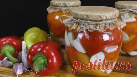 Сладкий перец, маринованный по-итальянски на зиму   PripravaClub - кулинарный канал   Яндекс Дзен