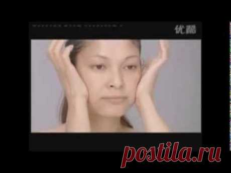 Омолаживающий японский массаж лица Асахи (Zogan) - Видео урок Танака - Клуб молодости, красоты и здоровья