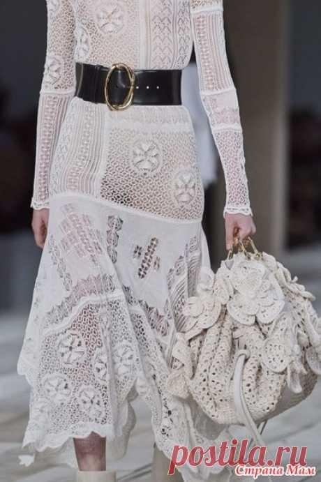 Сумка с Парижской недели моды. Я влюбилась! - Вязание - Страна Мам