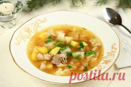 Суп из свинины с капустой и говядиной – пошаговый рецепт с фото.