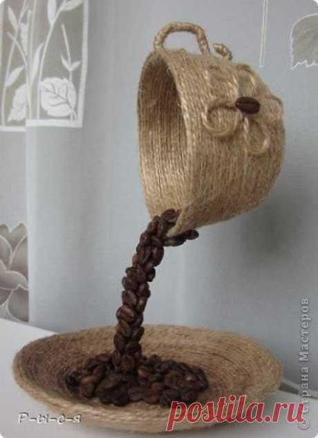 Парящая кофейная чашка: мастер-класс — DIYIdeas