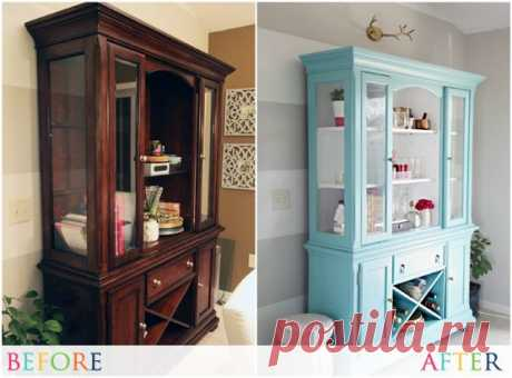 Идеи обновления старой мебели — Сделай сам, идеи для творчества - DIY Ideas