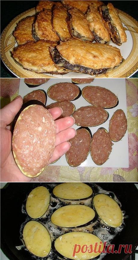 """Жареные баклажаны """"под мясом"""". Просто и вкусно!"""