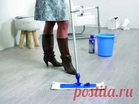 Как и чем помыть ламинат - Уборка в доме - медиаплатформа МирТесен