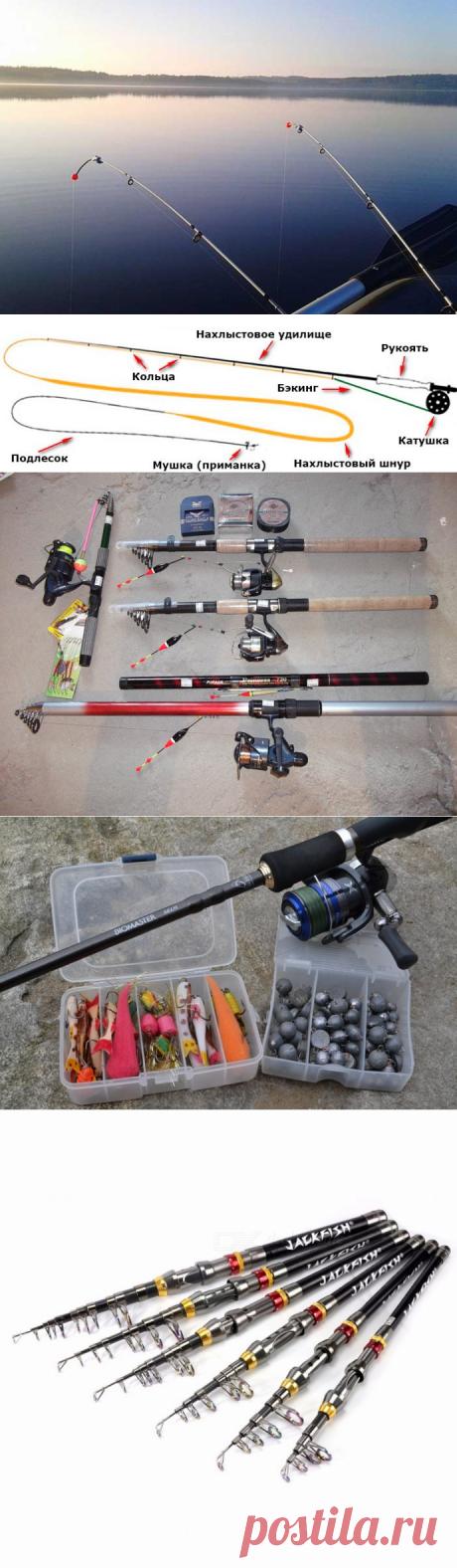 Удочки для летней рыбалки: виды снаряжения и выбор модели