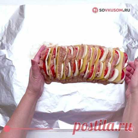 Как приготовить мясо «Гармошка» с душистым соусом 🍖