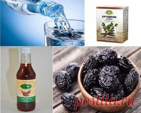 Холосас, чернослив и крушина от токсинов: рецепт — СОВЕТНИК