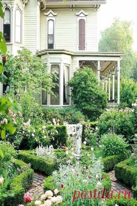 30 потрясающих идей дизайна небольшого сада