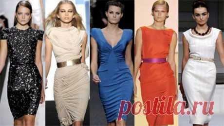 Выкройка основы платья. Пошаговая инструкция построения выкройки основы платья | Подружки