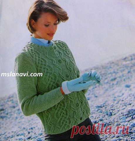 Мобильный LiveInternet Вяжем оливковый жакет с аранами с Ms Lana Vi. Мастер-класс | Dushka_li - Дневник Dushka_li |