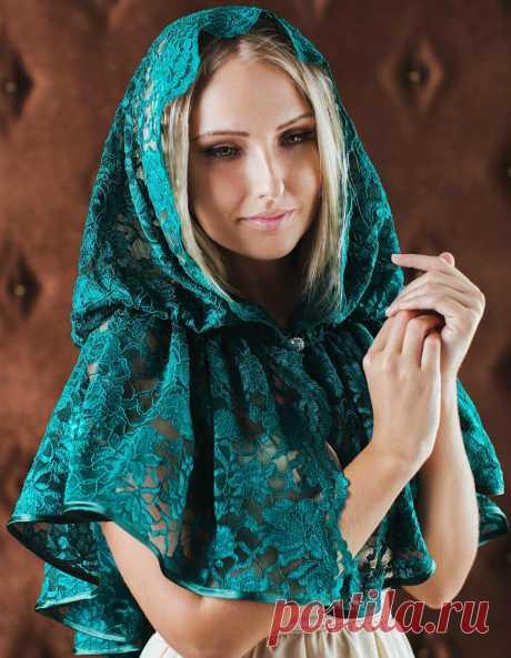 Платок для храма можно сшить своими руками (Шитье и крой) | Журнал Вдохновение Рукодельницы