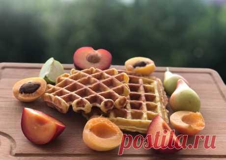 (13) Творожные вафли!!! - пошаговый рецепт с фото. Автор рецепта Сюзанна . - Cookpad