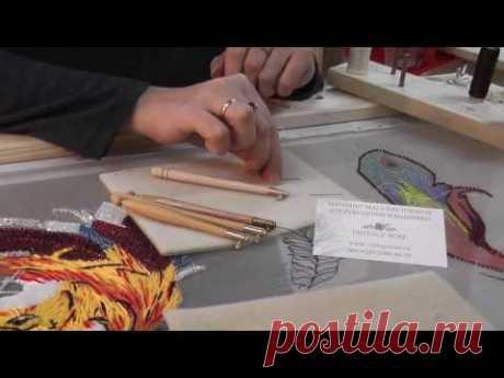 Люневильская вышивка. Обзор люневильских и индийских крючков в магазине-студии Vintage Rose